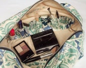 My Carry-All Makeup Bag, multiple compartments, large full length zipper