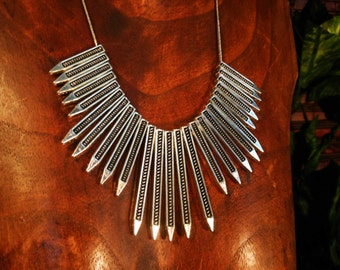 Arrow Statement Necklace
