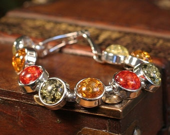 Gorgeous Natural Tree Resin Bracelet in Multiple Colors