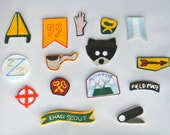 Wes Anderson Inspired Assorted Brooch Pins