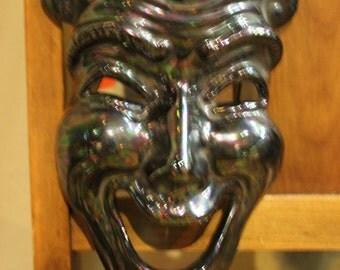 Harlequin Mask Opal Ceramic
