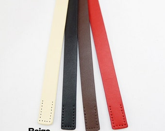 Pair 20'' Real Leather Bag Straps,Genuine Leather Bag Strap,Handbag Handles,Cowhide Leather Handbag Strap,Handles Punch Hole Ready kz0005