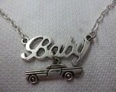Supernatural Impala inspired Baby necklace