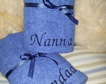 Set of 2 Grandparent Towels