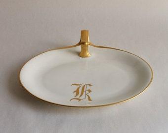 Vintage K Limoges France Serving Plate