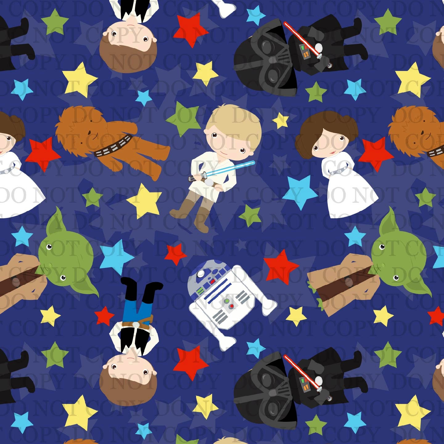 Star heroes star wars 95 5 polyester lycra jersey knit fabric for Star wars fabric