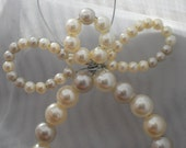 Angel ornament, beaded angel ornament, one of a kind ornament, angels, angel, white angel, pearl beaded angels, white beaded angel, ornament