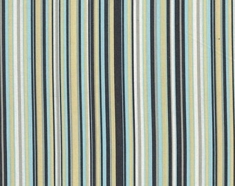 1 YARD- Michael Miller Play Stripe in Sea