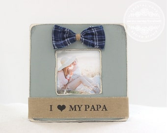father dad grandfather poppop papa picture frame gift fathers day gift for husband from kids children son