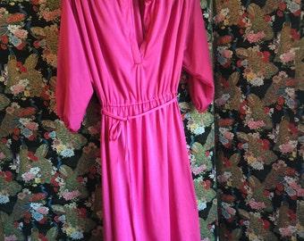 1970s Batwing Dress
