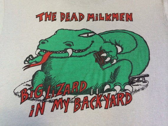 the dead milkmen shirt 1985 vintage original by
