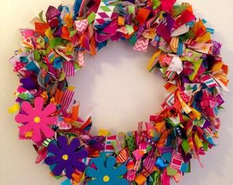 Summer Ribbon Wreath