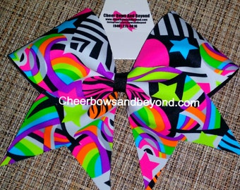 Cheer Bow Spring Fling Cheer And Dance Bow