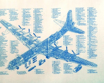 B-36 Peacemaker Blueprint