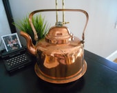 Vintage Copper Kettle, Swedish