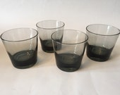 Vintage Mod Danish Modern Retro Smoke Glasses