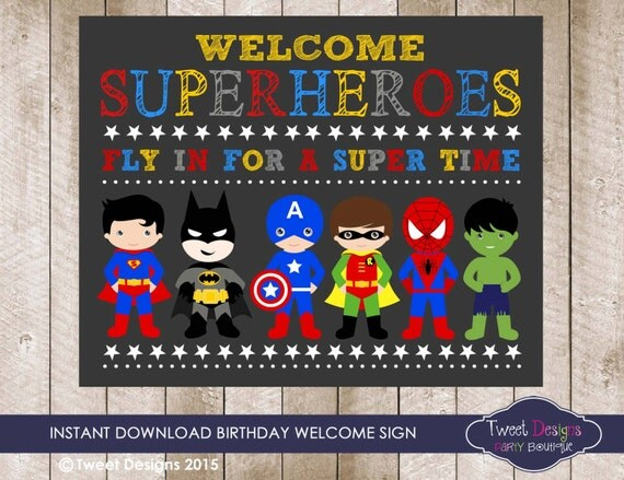 superhero invitation quotes