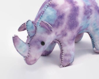 Rhino - Purple/Teal