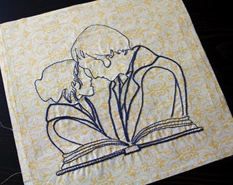 Fools In Love - Pride And Prejudice Embroidery