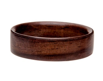 Wooden Ring -Indian Rosewood Bentwood Wooden Ring