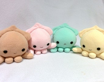 Small Cute Squid Plush