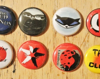 Delsin Rowe Buttons Cosplay Second Son Infamous Pins