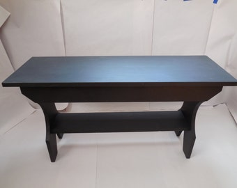 Black Bench - Table
