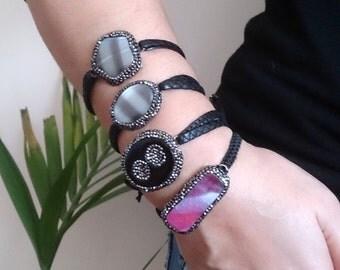 Gemstone bracelet, agate bracelet, gift, gift for her, mom gift, girlfriend gift, gift woman, gift ideas, gift bracelet, gemstone gift