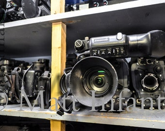 Bone Yard of Cameras.