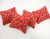 Doll House Throw Pillows Barbie Accent Decorative 1:6 Scale