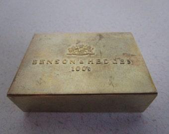 Pocket Ashtray Brass by Benson & Hedges 100s