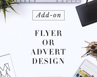 Custom Made Flyer or Advert Design