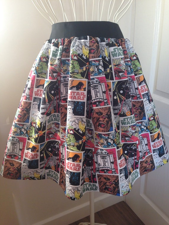 Star Wars full skater style skirt