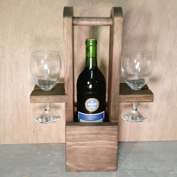 Items similar to wine tote wine caddy wine rack for Best wine for housewarming gift