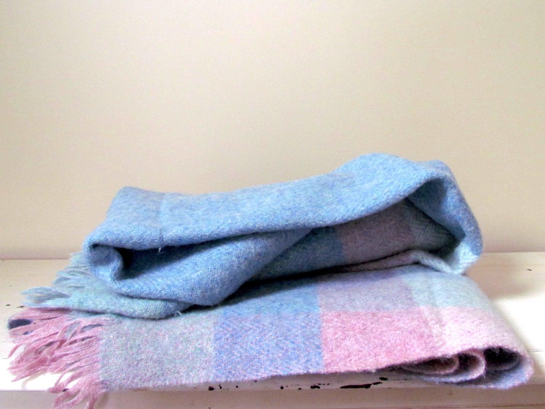 Vintage Avoca Handweavers Wool Throw Blanket Ireland