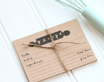 Kraft Recipe Cards Set