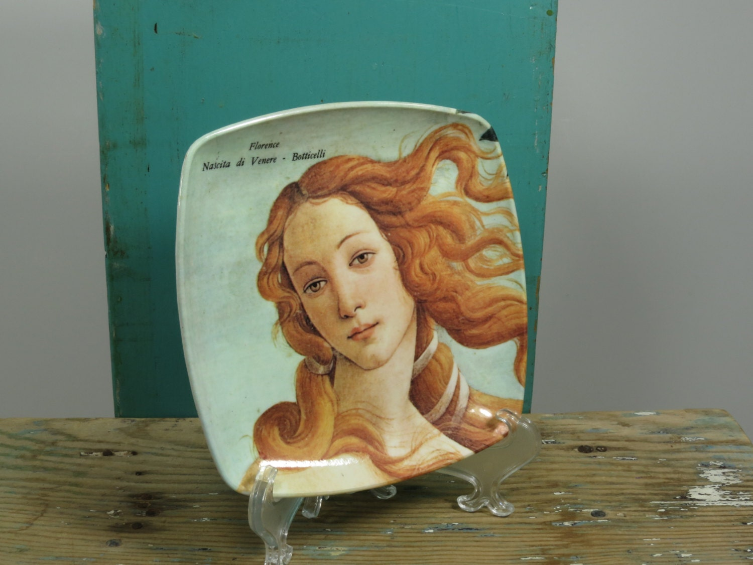 The Birth Of Venus Melamine Tip Tray Made In Italy Decorative