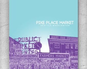 Pike place market Etsy