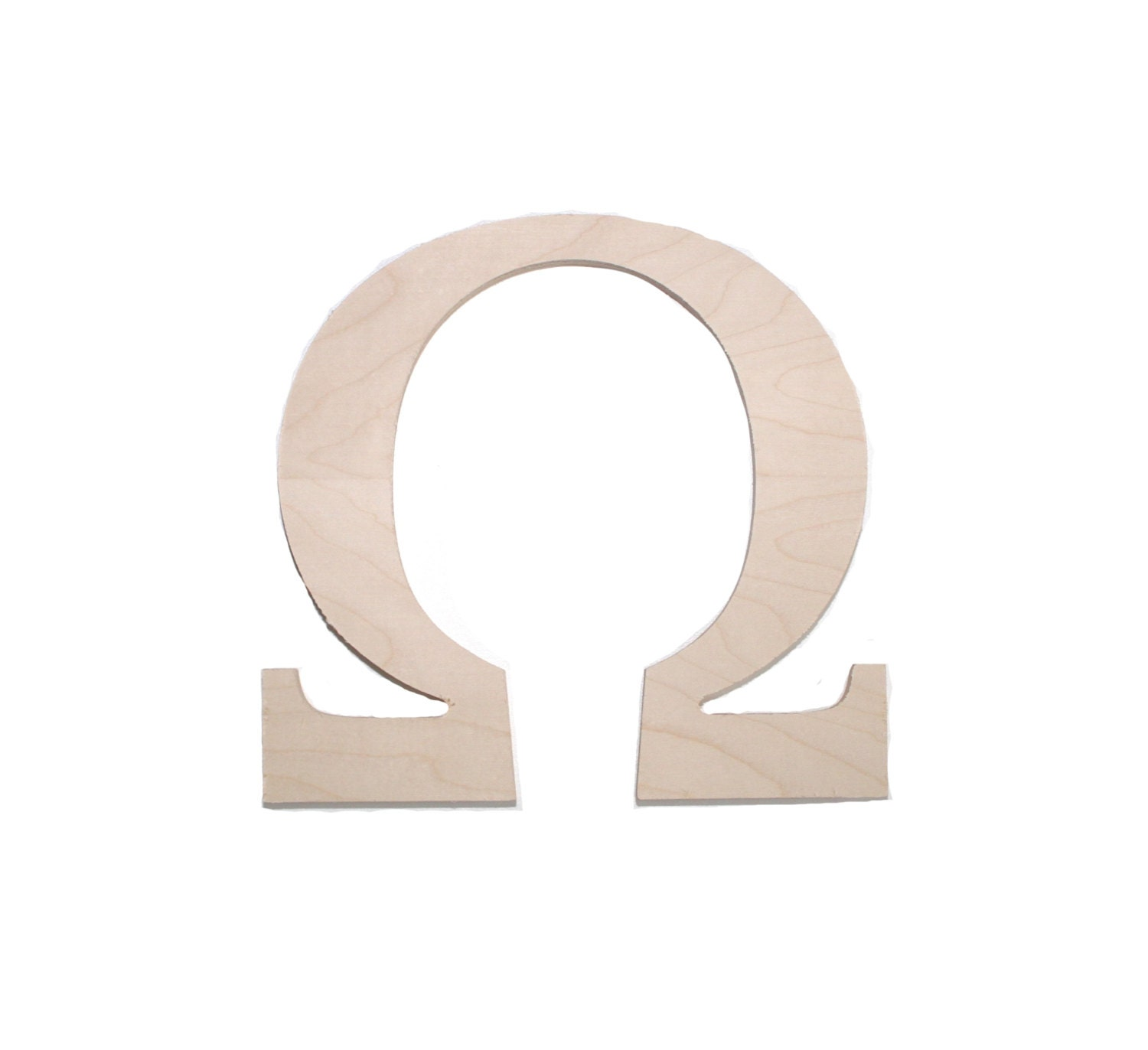 Buy Wooden Greek Letters Wooden Greek Sorority And Fraternity Letter Omega By