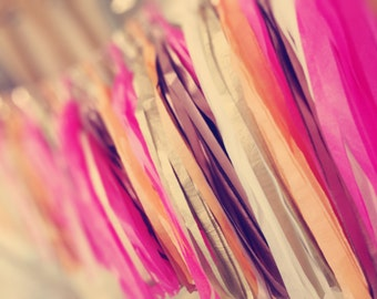 6ft Tassel Garland - 12 Tassels - You choose colours (Over 90 colours) - Wedding/Party Decorations  - Shop Displays
