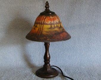 Accent Lamp - Forest Meadow Motif