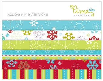 Holiday Mini Paper Pack