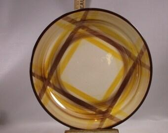 """Vernonware Organdie 10 1/4""""Dinner Plate.epsteam"""