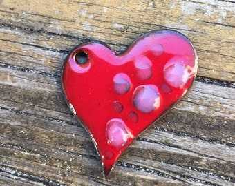 Bubbling Heart pendant