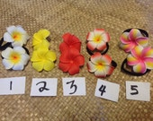 1 Set Of Baby Moana Flowers With Rubberband. This Is For Children And Adult. Available With Clips Too. Please Choose Your Set. Beach, Gifts.
