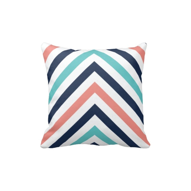 Chevron Striped Throw Pillow Cover-Insert-Modern