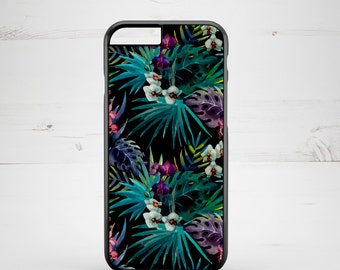 iPhone 6 Case iPhone 5c iPhone 5s iPhone 6 plus cover - Floral Flowers Tropical Exotic - PC0002