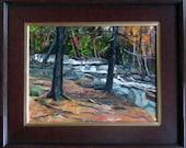 Jackson Falls New Hampshire Oil Painting