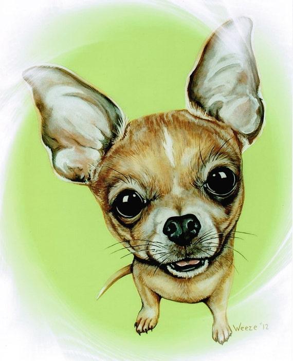 Chihuahua Chihuahua Art Chihuahuas Chihuahua By Artbyweeze