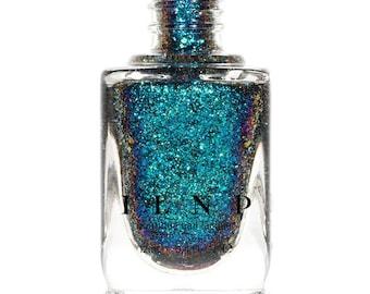 Cold Fusion -  Blue, Teal, Purple Ultra Chrome Color Shifting Flakie Nail Polish